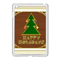 Art Deco Holiday Card Apple Ipad Mini Case (white)