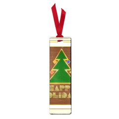 Art Deco Holiday Card Small Book Marks