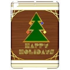 Art Deco Holiday Card Apple Ipad Pro 9 7   Hardshell Case