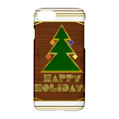 Art Deco Holiday Card Apple Iphone 7 Hardshell Case