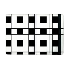 Black And White Pattern Apple Ipad Mini Flip Case