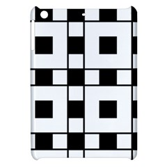Black And White Pattern Apple Ipad Mini Hardshell Case