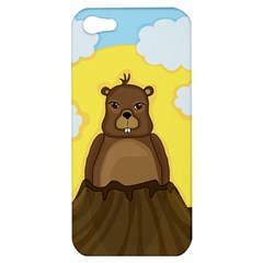 Groundhog Day  Apple Iphone 5 Hardshell Case by Valentinaart