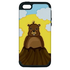 Groundhog Day  Apple Iphone 5 Hardshell Case (pc+silicone) by Valentinaart