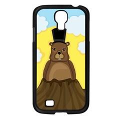 Groundhog Samsung Galaxy S4 I9500/ I9505 Case (black) by Valentinaart