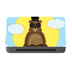 Happy Groundhog Day Memory Card Reader With Cf by Valentinaart
