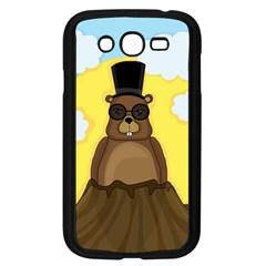 Happy Groundhog Day Samsung Galaxy Grand Duos I9082 Case (black) by Valentinaart