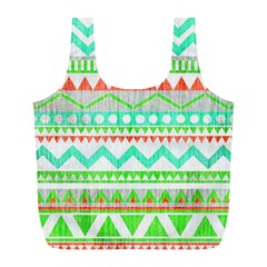 Cute Bohemian  Full Print Recycle Bags (l)  by Brittlevirginclothing