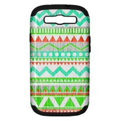 Cute Bohemian Samsung Galaxy S Iii Hardshell Case (pc+silicone) by Brittlevirginclothing