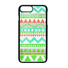 Cute Bohemian Apple Iphone 7 Plus Seamless Case (black) by Brittlevirginclothing