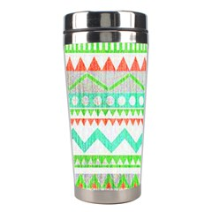 Cute Bohemian  Stainless Steel Travel Tumblers by Brittlevirginclothing