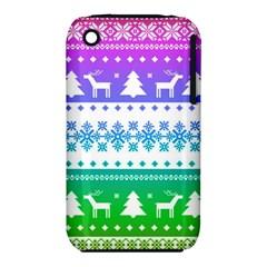 Cute Rainbow Bohemian Iphone 3s/3gs by Brittlevirginclothing