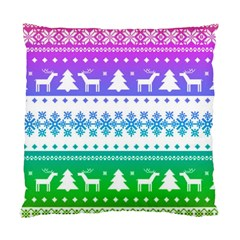 Cute Rainbow Bohemian Standard Cushion Case (two Sides) by Brittlevirginclothing