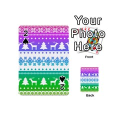 Cute Rainbow Bohemian Playing Cards 54 (mini)  by Brittlevirginclothing