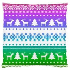 Cute Rainbow Bohemian Standard Flano Cushion Case (two Sides) by Brittlevirginclothing