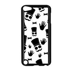 Gentlemen   Black And White Apple Ipod Touch 5 Case (black) by Valentinaart