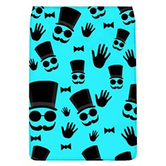 Gentlemen   Blue Pattern Flap Covers (l)  by Valentinaart