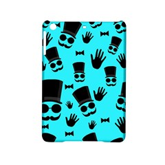 Gentlemen   Blue Pattern Ipad Mini 2 Hardshell Cases by Valentinaart