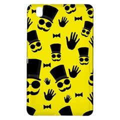 Gentlemen   Yellow Pattern Samsung Galaxy Tab Pro 8 4 Hardshell Case by Valentinaart