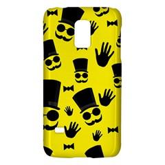 Gentlemen   Yellow Pattern Galaxy S5 Mini by Valentinaart