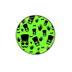 Gentleman   Green Pattern Hat Clip Ball Marker (4 Pack) by Valentinaart
