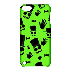 Gentleman   Green Pattern Apple Ipod Touch 5 Hardshell Case With Stand by Valentinaart