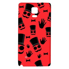 Gentlemen   Red Galaxy Note 4 Back Case by Valentinaart