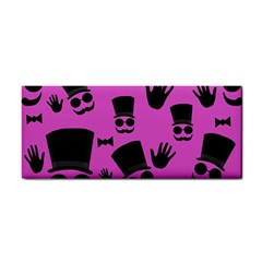 Gentleman   Magenta Pattern Cosmetic Storage Cases by Valentinaart
