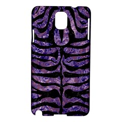 Skin2 Black Marble & Purple Marble (r) Samsung Galaxy Note 3 N9005 Hardshell Case by trendistuff