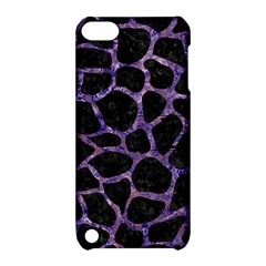 Skin1 Black Marble & Purple Marble (r) Apple Ipod Touch 5 Hardshell Case With Stand by trendistuff