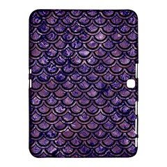 Scales2 Black Marble & Purple Marble (r) Samsung Galaxy Tab 4 (10 1 ) Hardshell Case  by trendistuff