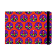 Christmas Candles Seamless Pattern Ipad Mini 2 Flip Cases