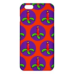 Christmas Candles Seamless Pattern Iphone 6 Plus/6s Plus Tpu Case