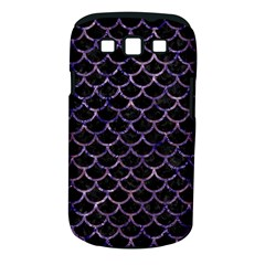 Scales1 Black Marble & Purple Marble Samsung Galaxy S Iii Classic Hardshell Case (pc+silicone) by trendistuff