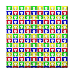 Colorful Curtains Seamless Pattern Face Towel