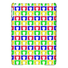 Colorful Curtains Seamless Pattern Ipad Air Hardshell Cases by Amaryn4rt