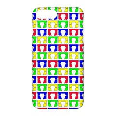 Colorful Curtains Seamless Pattern Apple Iphone 7 Plus Hardshell Case by Amaryn4rt