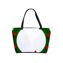 Holiday Wreath Shoulder Handbags by Amaryn4rt