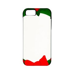 Holiday Wreath Apple Iphone 5 Classic Hardshell Case (pc+silicone) by Amaryn4rt