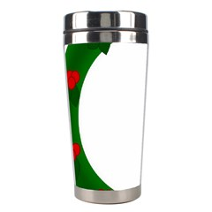Holiday Wreath Stainless Steel Travel Tumblers by Amaryn4rt