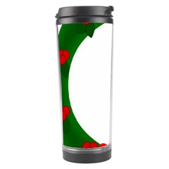 Holiday Wreath Travel Tumbler