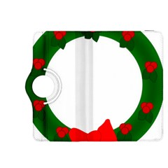 Holiday Wreath Kindle Fire Hdx 8 9  Flip 360 Case by Amaryn4rt