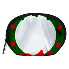Holiday Wreath Accessory Pouches (medium)