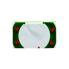 Holiday Wreath Cosmetic Bag (xs)
