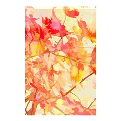 Monotype Art Pattern Leaves Colored Autumn Shower Curtain 48  X 72  (small)