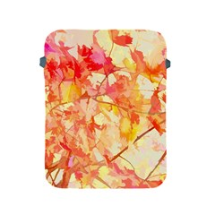Monotype Art Pattern Leaves Colored Autumn Apple Ipad 2/3/4 Protective Soft Cases by Amaryn4rt