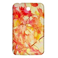 Monotype Art Pattern Leaves Colored Autumn Samsung Galaxy Tab 3 (7 ) P3200 Hardshell Case  by Amaryn4rt