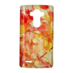 Monotype Art Pattern Leaves Colored Autumn Lg G4 Hardshell Case by Amaryn4rt