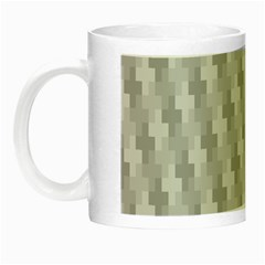 Abstract Pattern Night Luminous Mugs by AnjaniArt