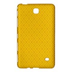 Yellow Flower Samsung Galaxy Tab 4 (7 ) Hardshell Case  by AnjaniArt